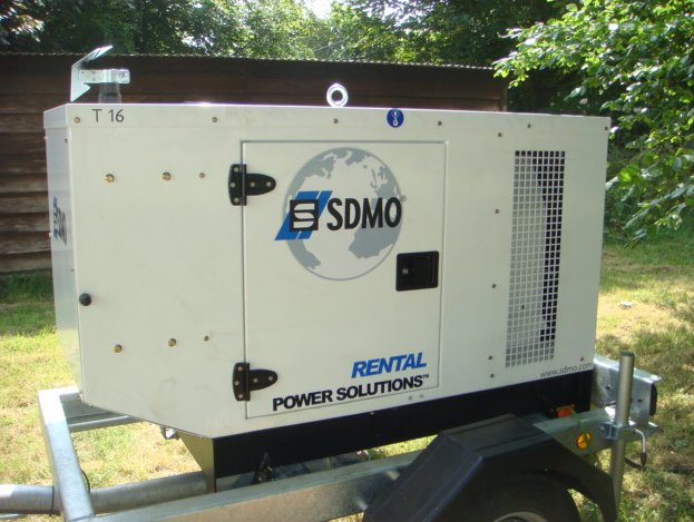 Generators for Hire in the UK