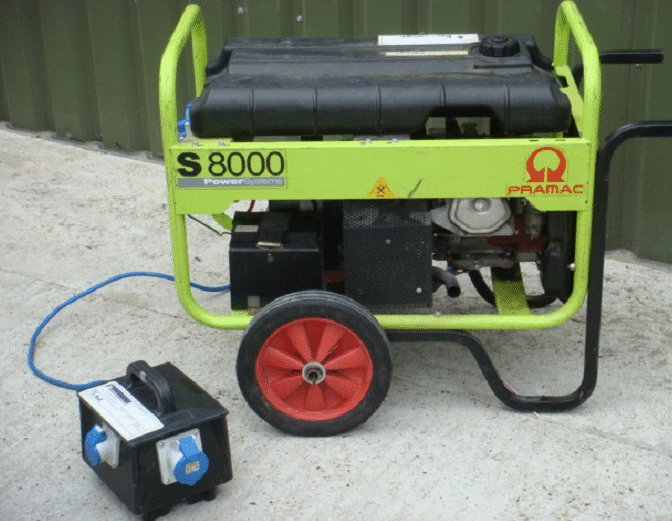 Small Low Power Generator Hire